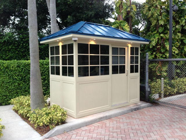 aluminum guard booth