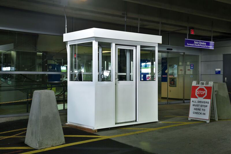 Airport Security Booth