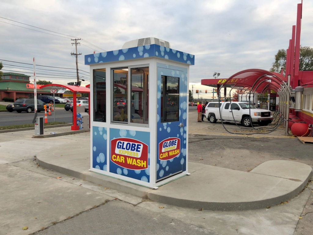 Car Wash Cashier Booth
