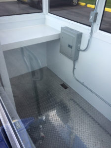 Guard Booth Surface Mounted Electric Panel