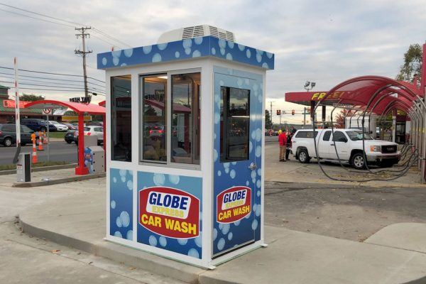Car Wash Cashier Booth 8-038
