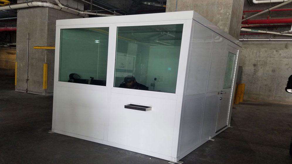 Prefab Control Booth 16-048