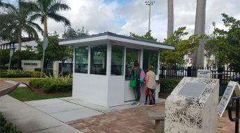 Temperature Screening Booth